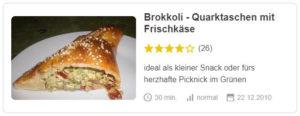 Brokkoli - Quarktaschen mit Frischkäse © filu96 | Chefkoch.de
