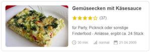 Gemüseecken mit Käsesauce © asterix313 | Chefkoch.de