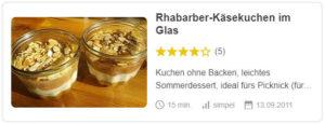 Rhabarber-Käsekuchen im Glas © filu96 | Chefkoch.de